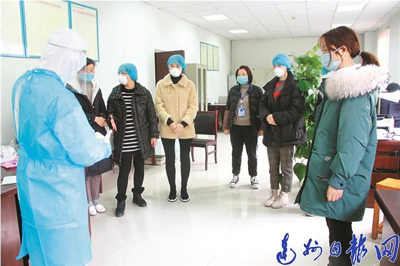 達州市中(zhong)西醫結合醫院援助湖北(bei)醫療後備隊(dui)待(dai)命出(chu)征