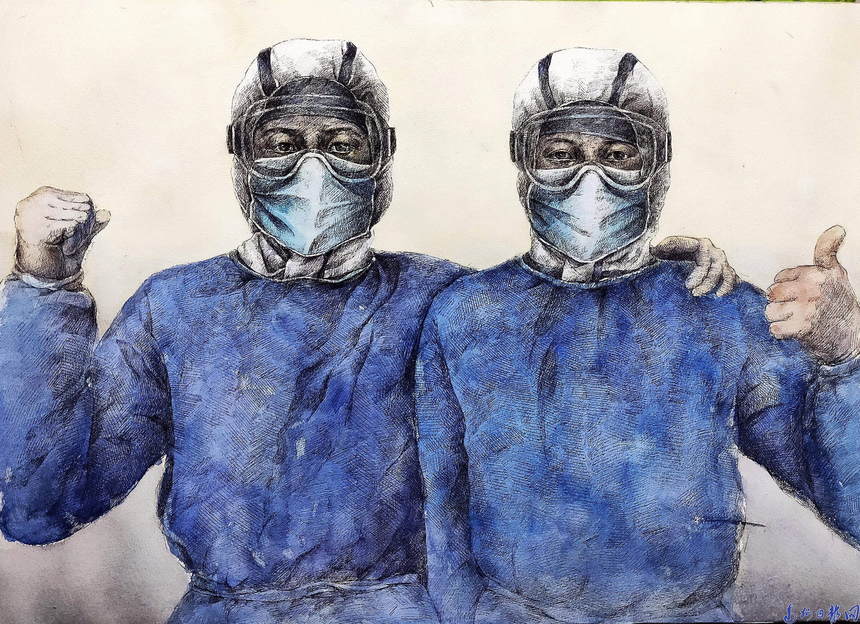 宣汉县举办抗击疫情主题创作网络文艺作品展