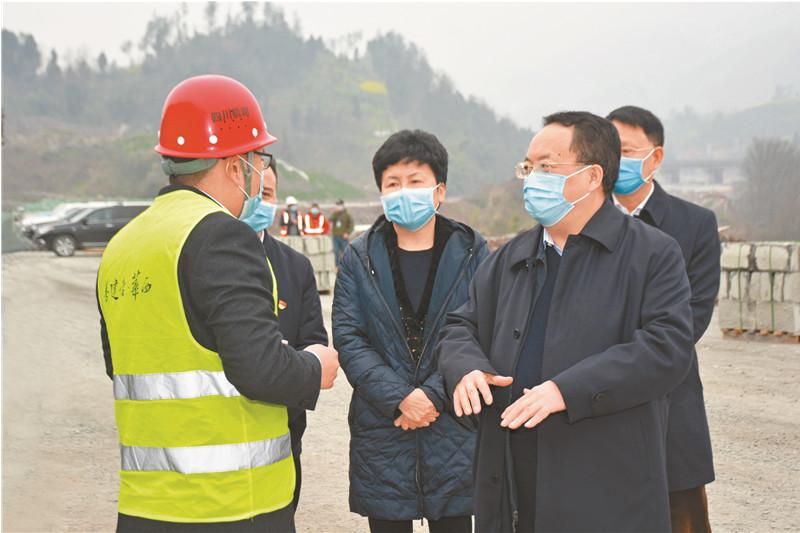 王树江来达调研统筹推进疫情防控和经济社会发展工作