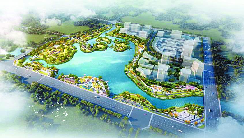 """打造""""竹""""特色!大竹县北湖公园设计方案公示"""