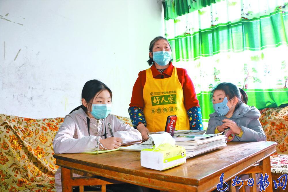 达川区稳步推进线上教学工作 全区中小学生宅家生活丰富多彩