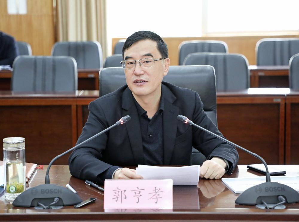 郭亨孝主持召开专题会 :通过特色重点镇示范带动促进经济社会高质量发展