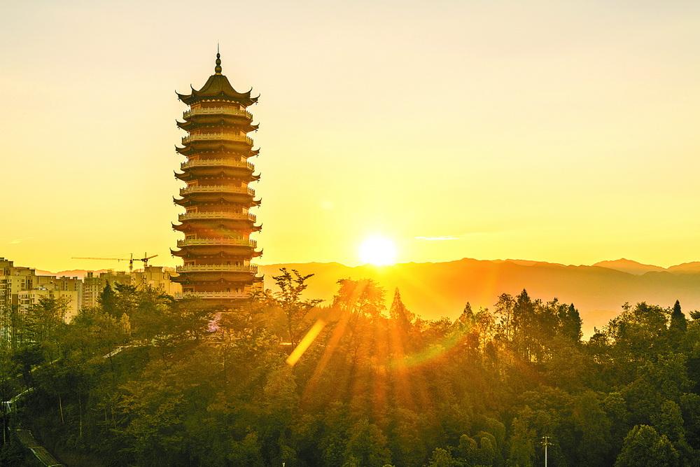 定了!四川省再添15家4A级旅游景区,渠县文峰山文化旅游景区上榜