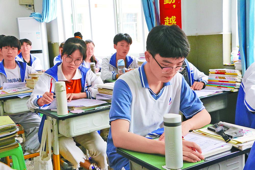 达川区第四中学:做好疫情防控 科学备战高考