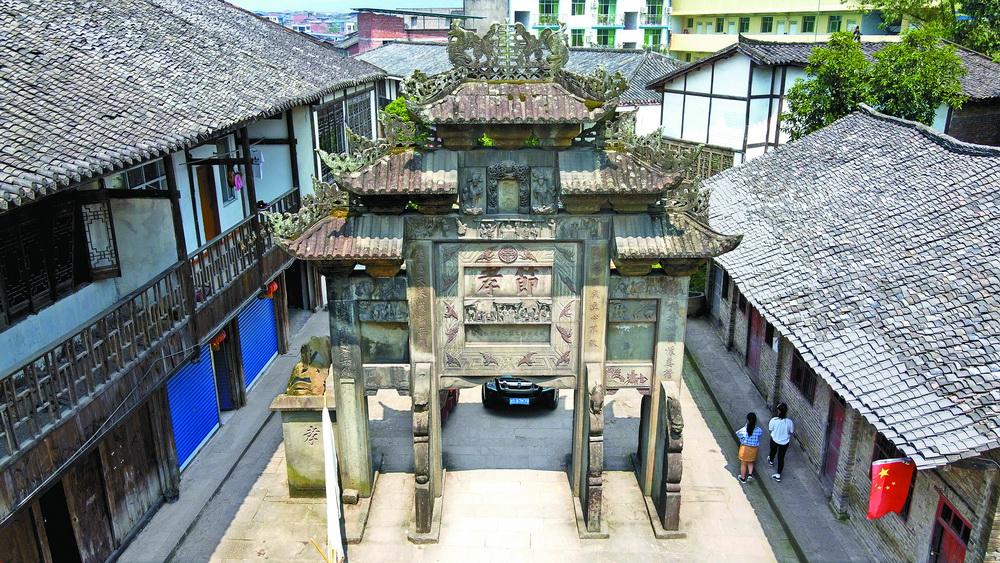 中国历史文化名镇——石桥古镇