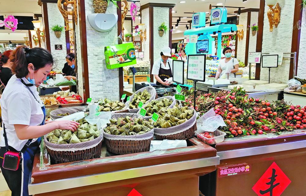 端午将至!达城粽子市场很热闹,口味、实惠是考虑购买首要因素