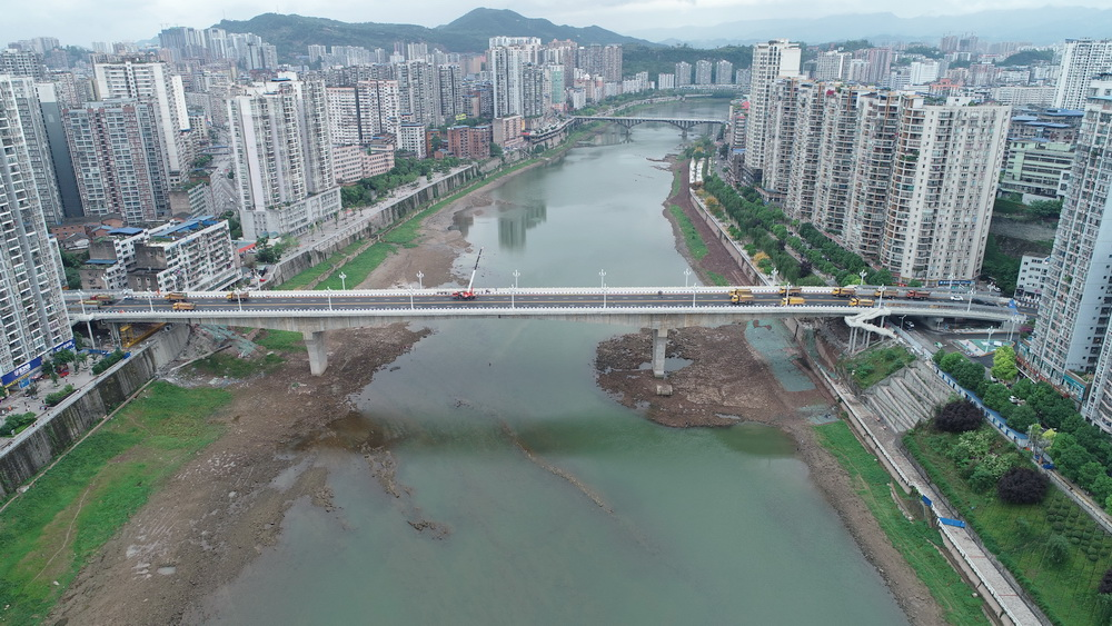 野茅溪大桥今日通车