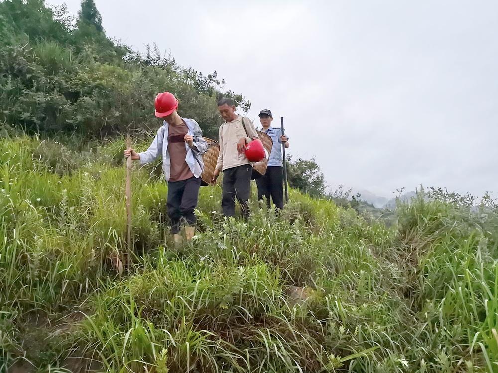 两村民深山捡菌迷路被困 爬上树为搜救民警指明位置