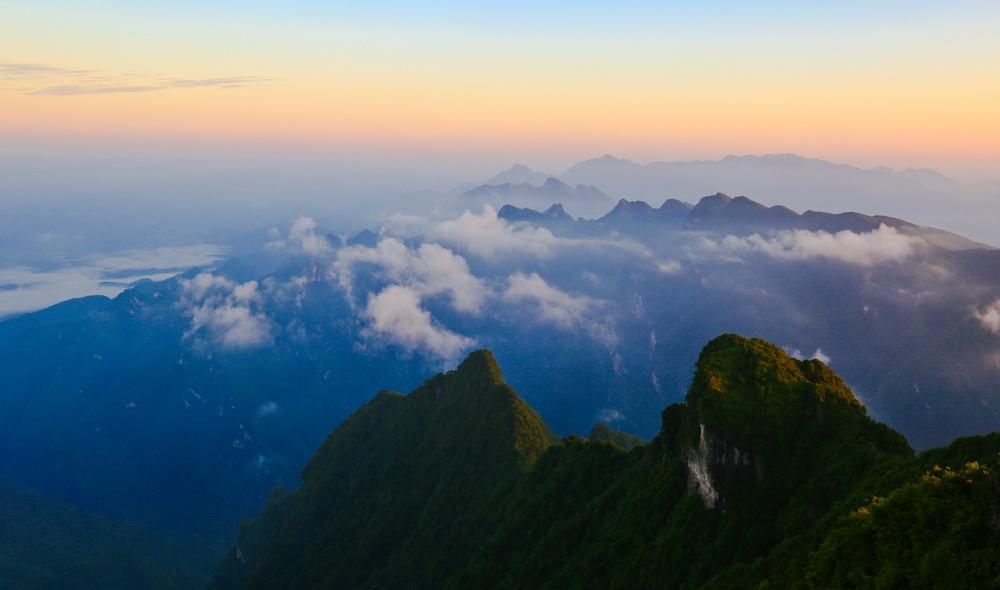 风光摄影路 艰辛又快乐——守候八台山美景