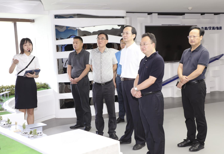 郭亨孝率队赴中国五冶集团实地考察