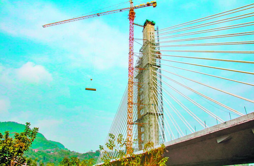 """""""风帆""""已扬起!罗江大桥建设进入冲刺阶段"""