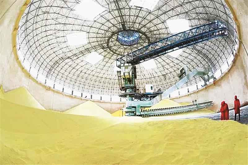 单日销售硫磺达到11930吨!普光气田硫磺日销量再创新高
