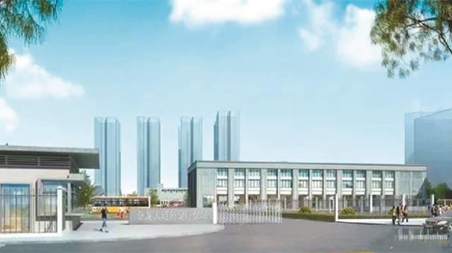 总投资5000余万  金龙大道公交停保场开建