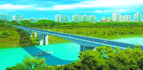 投资2.88亿元 渠县三汇中学大桥月底开工