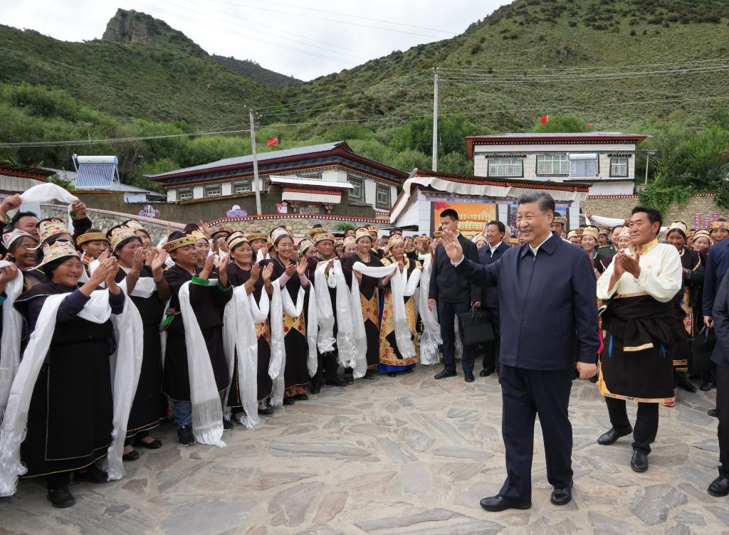 习近平总书记考察西藏回访记