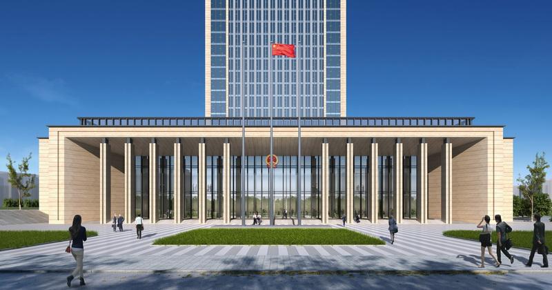 达川区新政务中心建设进展如何?来看看→