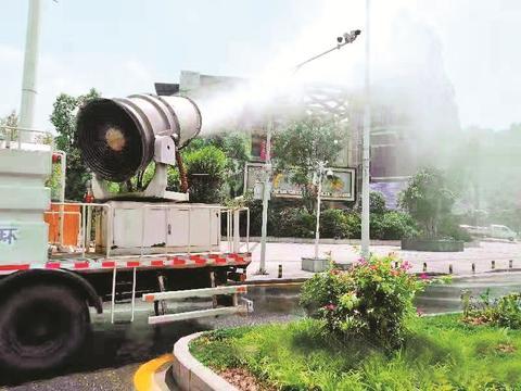 处所城管积极防治臭氧污染 改造大气环境