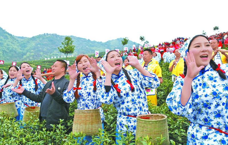 大竹:绿水青山带笑颜
