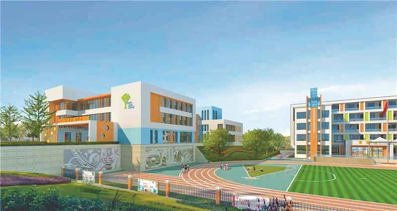 达川区2所新建学校今秋投用 4所正加快建设