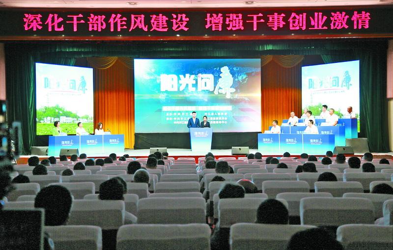 开江县2021年第一期《阳光问廉》火热开播