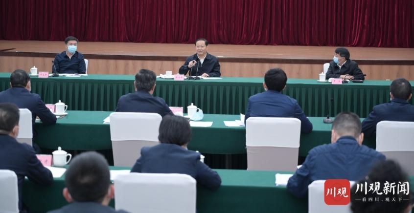 彭清华前往财政厅、省税务局调研并主持召开专题会议