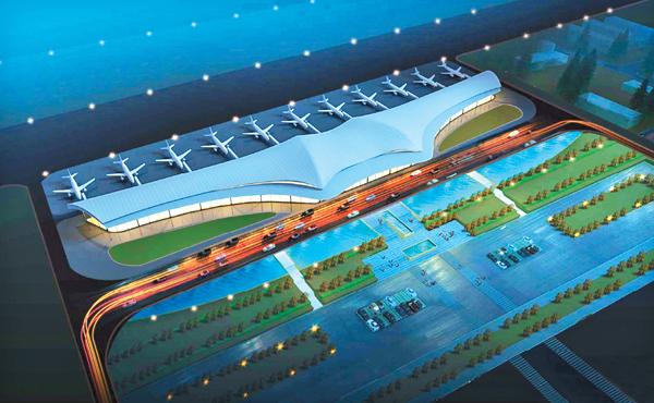 一个现代化机场,是一座城市对外的名片和窗口,更是一座城市与外界联系的桥梁和纽带。目前,达州新机场正加紧建设,预计2018年底初步建成通航。记者昨日从市有关部门获悉,该机场征集的未来航站楼概念作品中,巴国神鸟以充分展现巴文化内涵获得专家和市民好评,将作为未来航站楼外观设计的重要概念和参考。新机场建成后,将成为达州连通外界的又一重要空中方便快捷走廊,更奠定达州交通枢纽中心城市地位。 无法扩展升级 河市机场迁建迫在眉睫 始建于上世纪40年代的河市机场,地处达川区河市镇,距今已近80年。该机场作为当时的抗