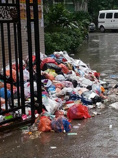 万祥苑小区垃圾堆成山苍蝇满天飞 - 达州新闻-
