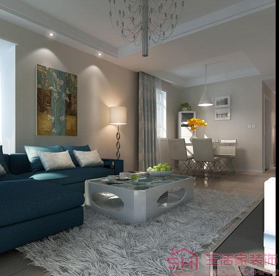 100平米现代风格装修案例图 昆明生活家提供