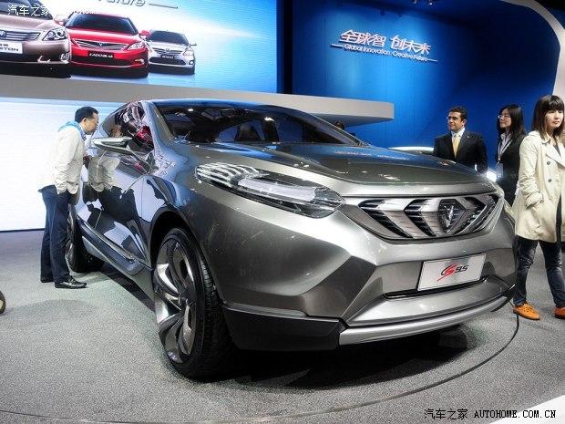长安cs95   概念车   另外,   长安   汽车还将于2014年推高清图片