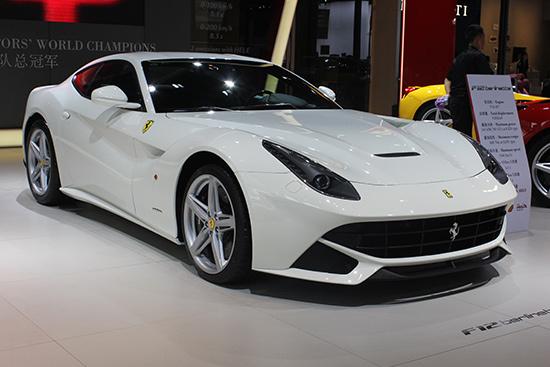 法拉利 劳斯莱斯等 车展最贵豪华车盘点高清图片