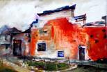 岁月白衣(油画)冯铮