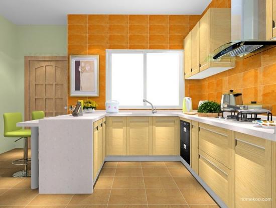 厨房瓷砖贴图 厨房瓷砖效果图大全 高清图片