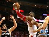 NBA常规赛:火箭胜马刺锁定西部第四
